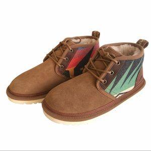 Ugg Neumel Sierra wool Chestnut boots
